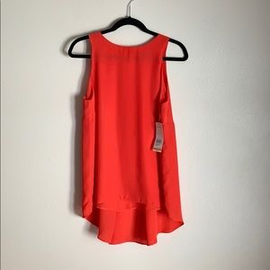NWT Relativity coral high low tank
